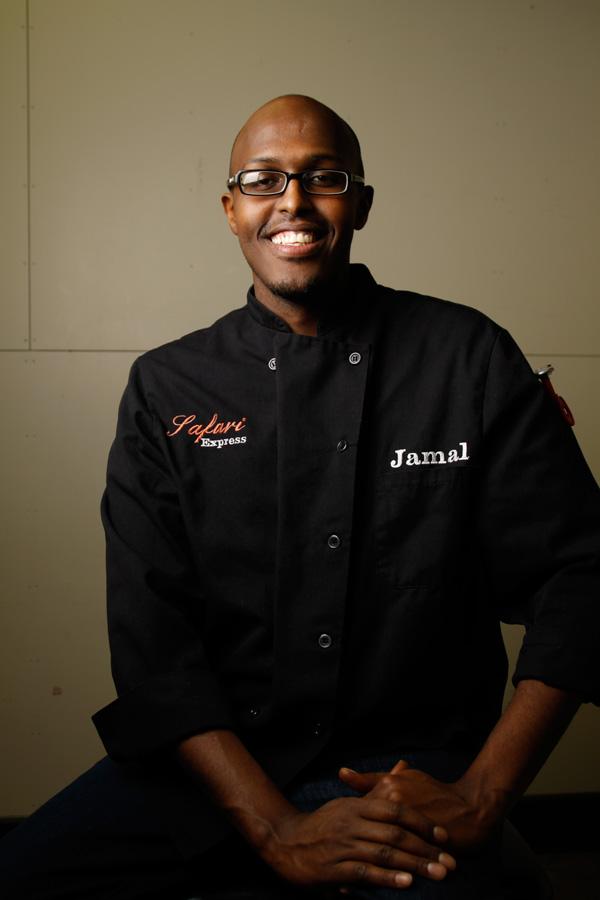 Chef Jamal Hashi Founder of Safari Express Headshots