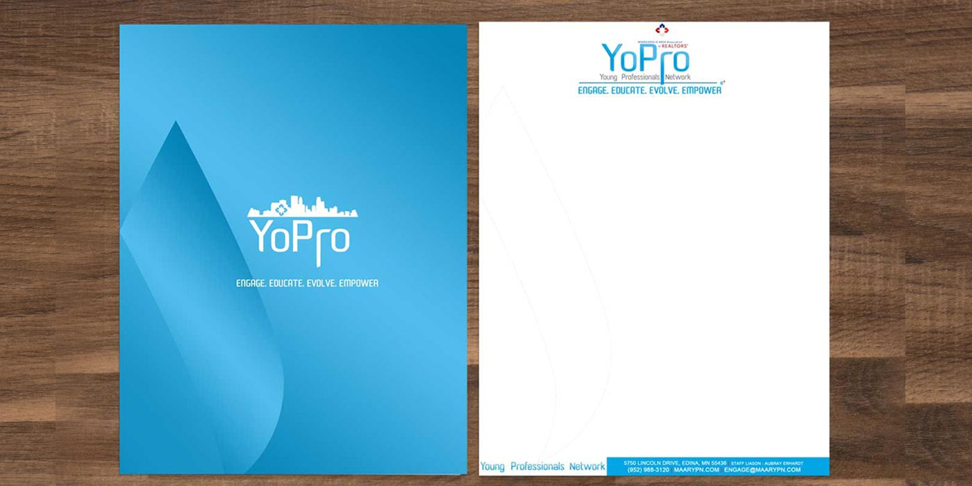 Minneapolis Area Association of Realtors Young Professionals network letterhead