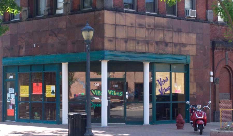 Biology Bar Exterior Before renovation