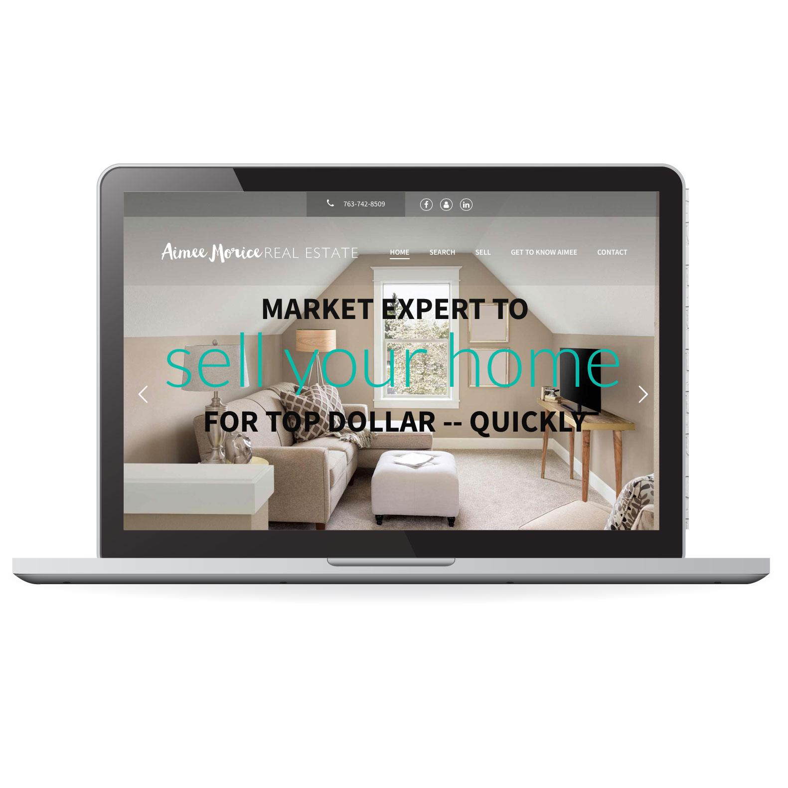 Minnesota Real Estate IDX Website Design