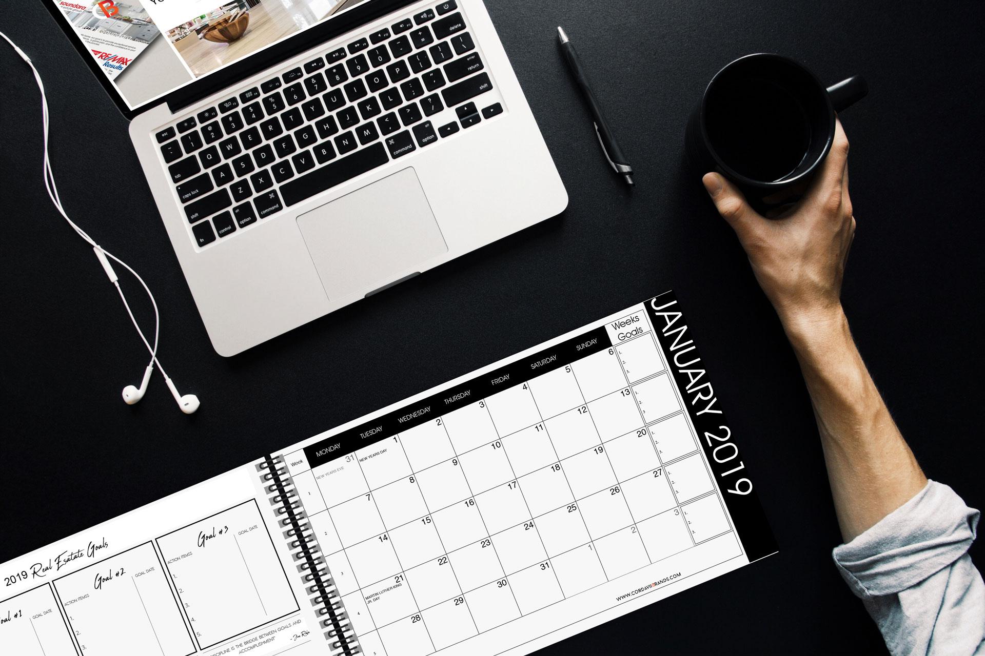 Cordavii Brand Consulting 2019 Real Estate Marketing Calendar