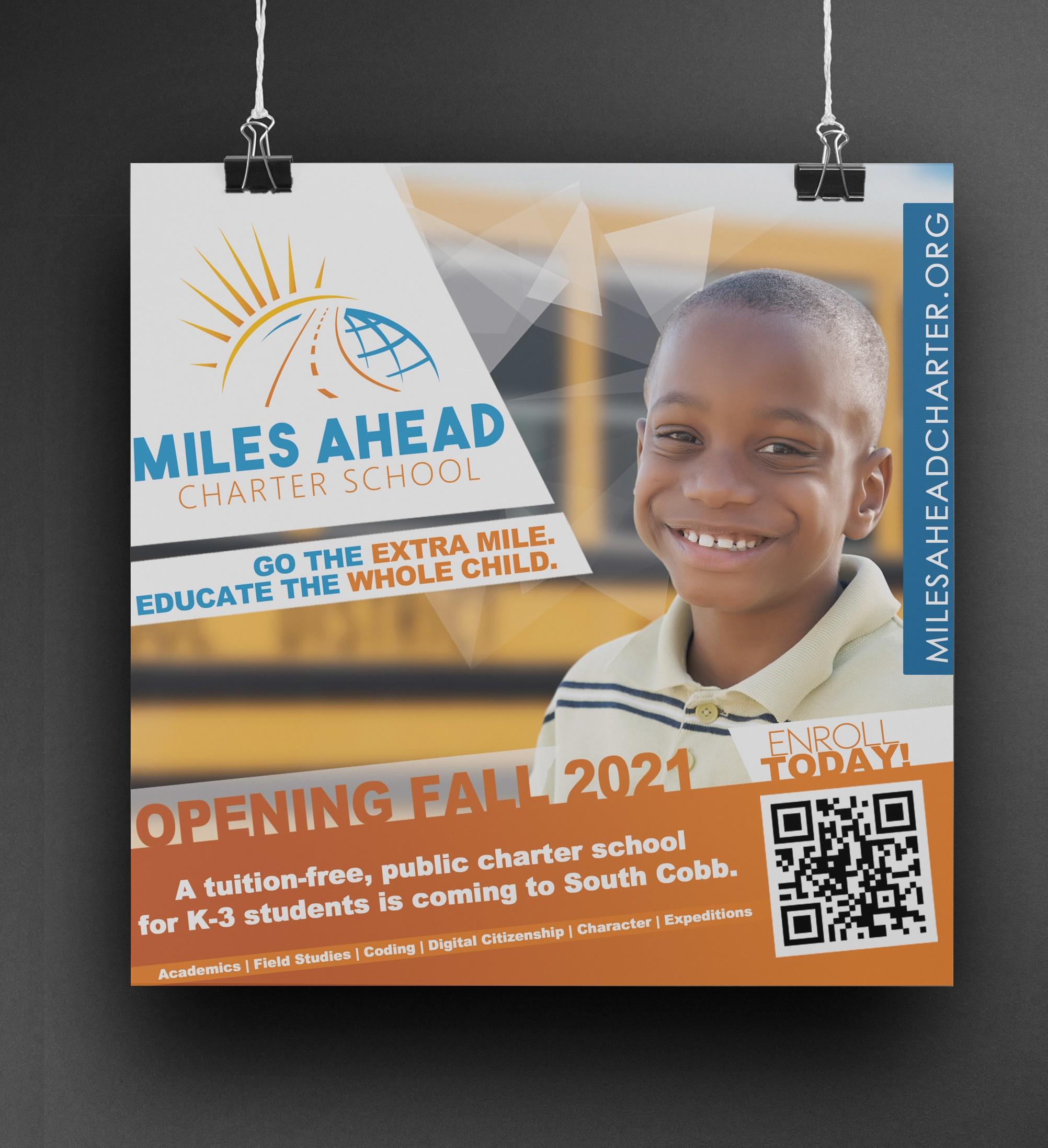 Miles Ahead Charter School Social Marketing