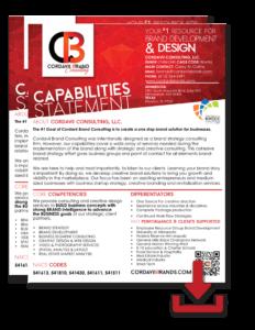Cordavii Brands Consulting Capabilities Statement